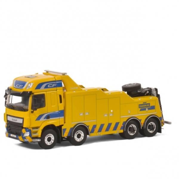04-2005 - WSI - DAF CF SC 8x4 4achs Falkom Bergefahrzeug, gelb