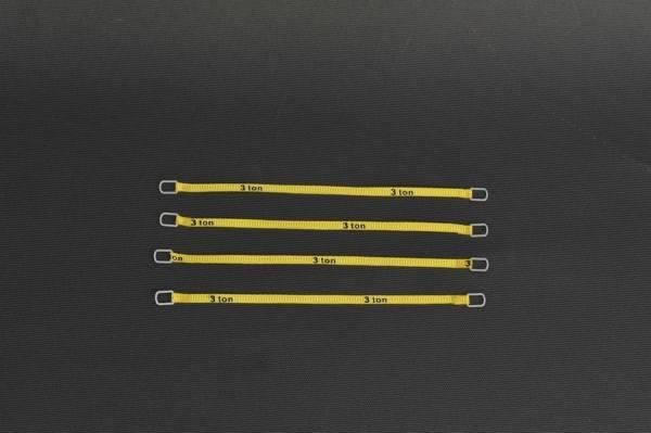 YC333-2 - YCC - Anschlaggurte, gelb -10cm- 3 Tonnen Version -4 Stück