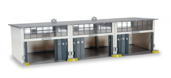 745802 - Herpa - Gebäudebausatz Reparaturhalle, 3-ständig