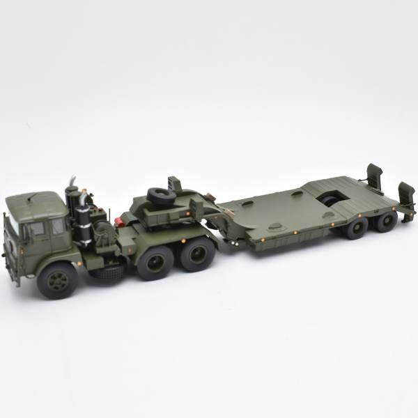 ScaleMasters - FTF 6x4 mit YTS 1005 mit 2achs Tieflader, Miltär / Army
