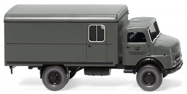 """085238 - Wiking - Mercedes-Benz Rundhauber Koffer-LKW """"DBP Fernmeldedienst"""""""