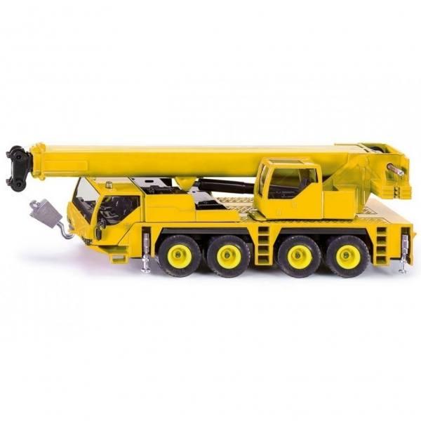 2110 - Siku - 4achs Mobilkran, gelb