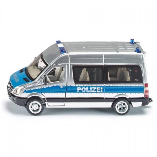 2313 - Siku - Mercedes-Benz Sprinter Bus - Polizei Mannschaftswagen
