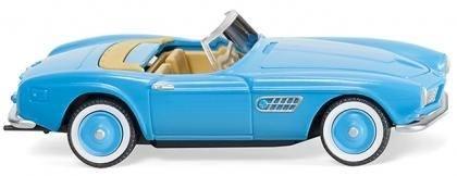 082906 - Wiking - BMW 507 Cabrio, hellblau