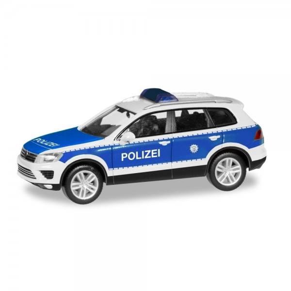 "093637 - Herpa - VW Touareg Funkstreifenwagen ""Bundespolizei"""