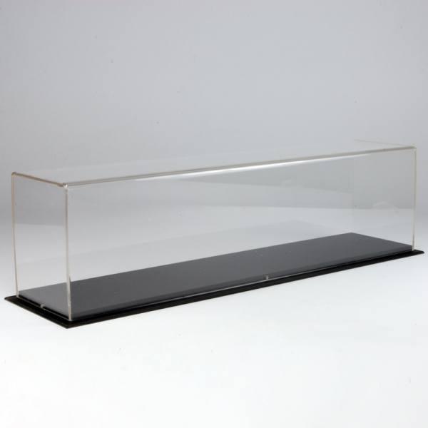 64595 - Tekno - Vitrine aus Plexiglas mit Sockel 420 x 90 x 110 mm