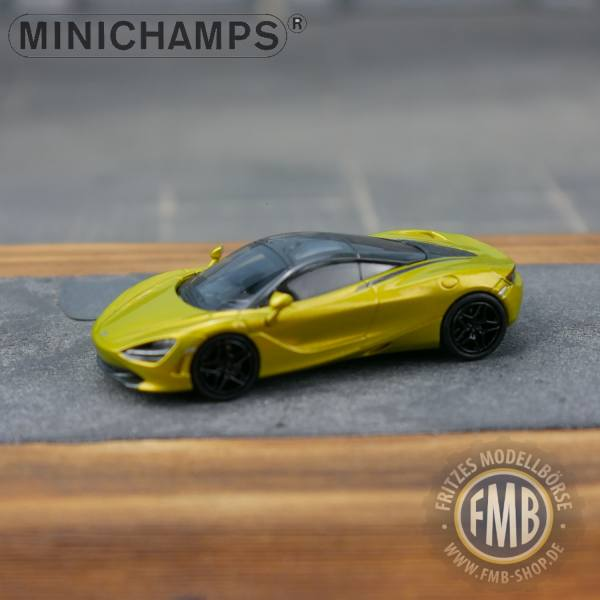 178724 - Minichamps - McLaren 720S Coupe (2017), solis gelb metallic