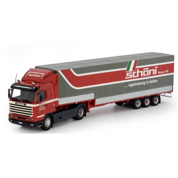 73905 - Tekno - Scania 3 serie Streamline mit 3achs klassischer Volumen-Auflieger - Schöni - CH -