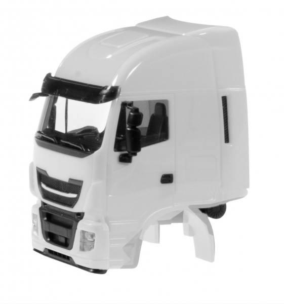 085045 - Herpa - TS Iveco Stralis Fahrerhaus mit WLB und CV, weiß - 2 Stück