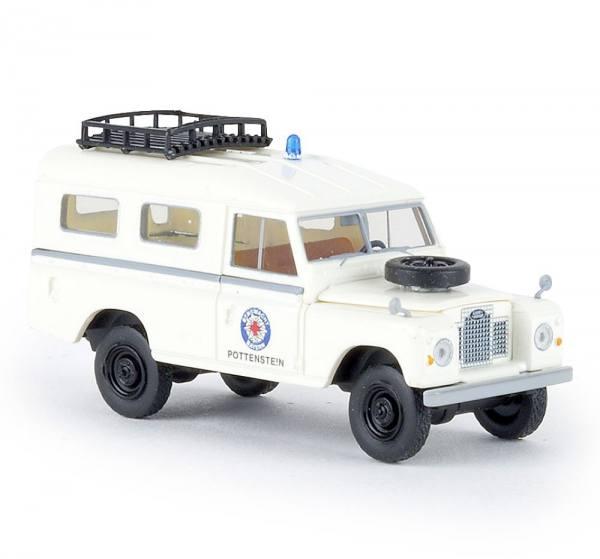 "13783 - Brekina - Land Rover 109 Series IIa Station ""Bergwacht Pottenstein"""