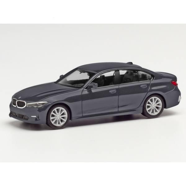430791-002 - Herpa - BMW 3er Limousine, mineralgrau metallic
