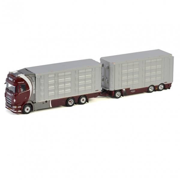 01-3036 - WSI - Scania S HL 6x2 Viehtransport-Hängerzug - Vaex - NL -