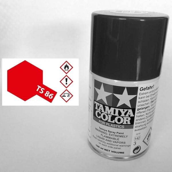85086 - Tamiya - brilliant rot 100ml , Sprühdose TS-86
