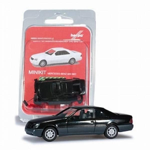 012676-002 - Herpa - MiniKit - Mercedes-Benz 600 SEC -schwarz-