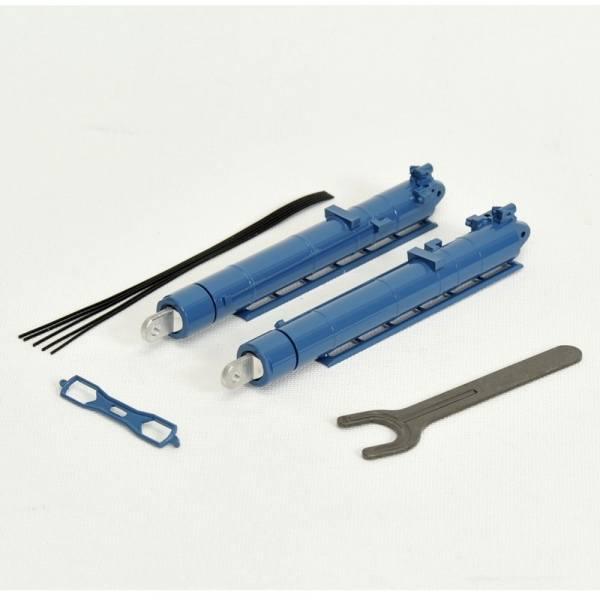 YC872-3 - YCC Models - Metall Zylinder Liebherr LTM 11.200-9.1 - blau / Sarens-