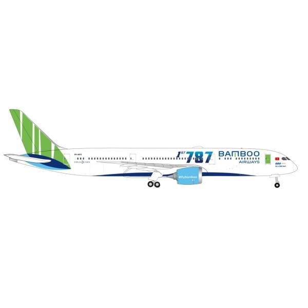 """534994 - Herpa Wings - Bamboo Airways Boeing 787-9 Dreamliner """"Ha Long Bay"""""""