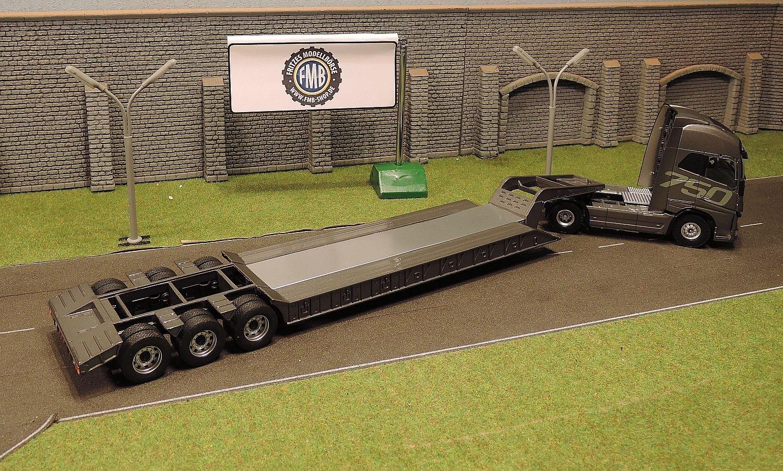 8 9004 holland oto volvo fh16 gl xl 4x2 mit lowboy. Black Bedroom Furniture Sets. Home Design Ideas