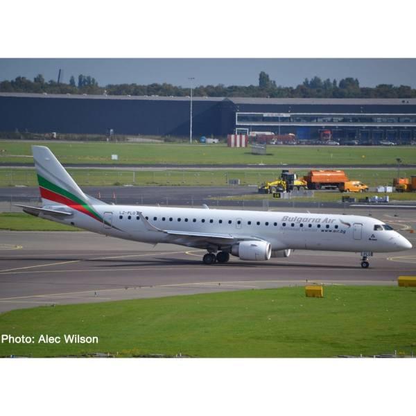 534086 - Herpa - Bulgaria Air Embraer E190 - LZ-PLO -