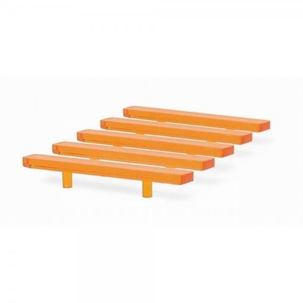 70258 - Rietze - LED-Lichtbalken orange für LKW / Transporter - 5 Stück