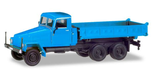 308670 - Herpa - IFA G5 Allrad-Dreiseitenkipper, hellblau