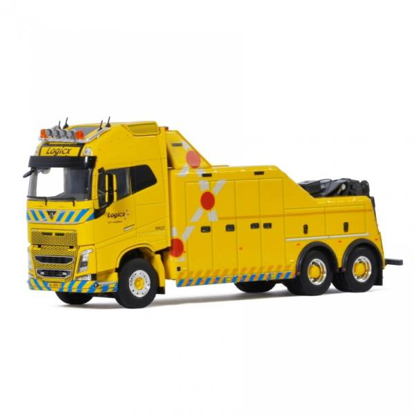 "01-3465 - WSI - Volvo FH4 Globetrotter XL 6x2 Falkom Bergefahrzeug ""Logicx"" NL"