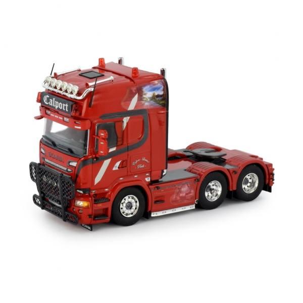 76223 - Tekno - Scania R `13 Topline 6x2 3achs Zugmaschine - Calport - UK