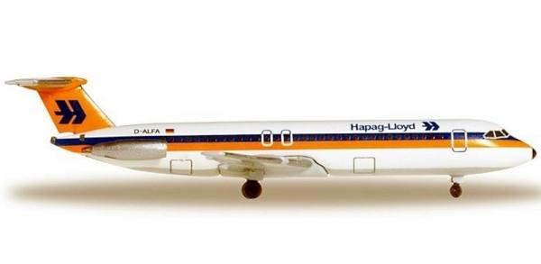 528955 - Herpa - Hapag Lloyd  BAC 1-11-500 - 1:500