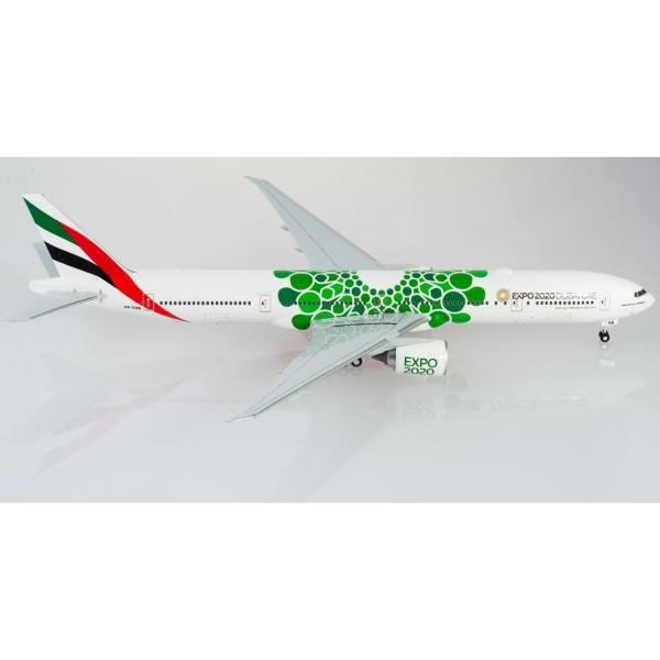 """570664 - Herpa - Emirates Boeing 777-300ER - Expo 2020 Dubai """"Sustainability"""""""