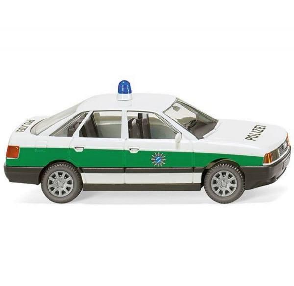 """086443 - Wiking - Audi 80 (Baujahr 1986-91) """"Polizei Bayern"""""""