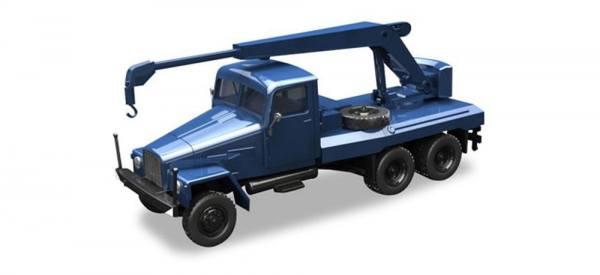 308106 - Herpa - IFA G5 Kranfahrzeug, blau