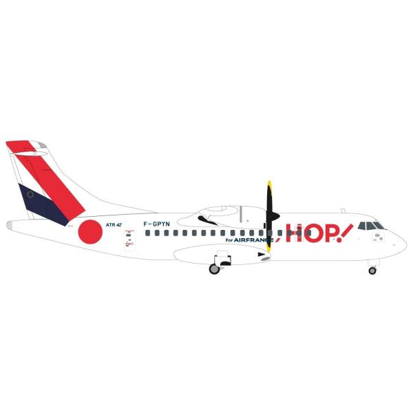 "559409 - Herpa - Hop! for Air France  ATR-42-500 ""F-GPYN"" - 1:200"