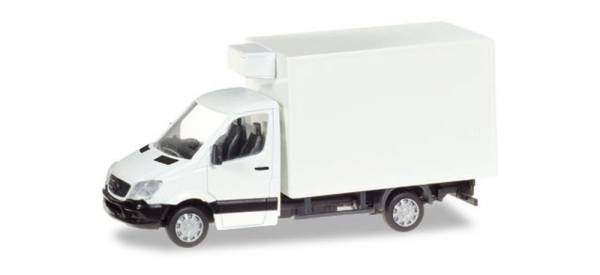 013062 - Herpa - MiniKit Mercedes-Benz Sprinter`13 Kühlkoffer, weiß unbedruckt