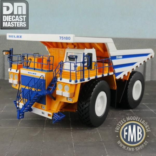75180 - Diecast Masters - Belaz 75180 Mining Truck Muldenkipper