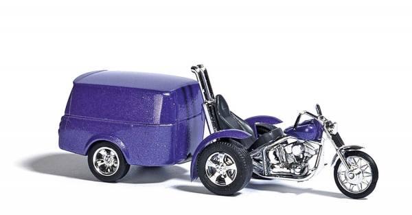 1152 - Busch - Trike mit Anhänger, sortiert