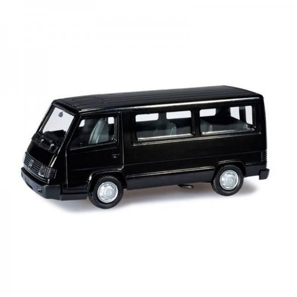 012317-003 - Herpa - Minikit Mercedes-Benz 100 D Bus, tiefschwarz