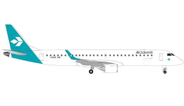 533799 - Herpa - Air Dolomiti Embraer E195 - I-ADJO -