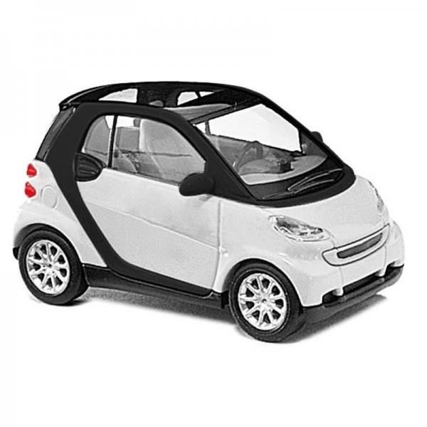 60202 - Busch Bausatz - Smart Fortwo `07 Coupe, weiß