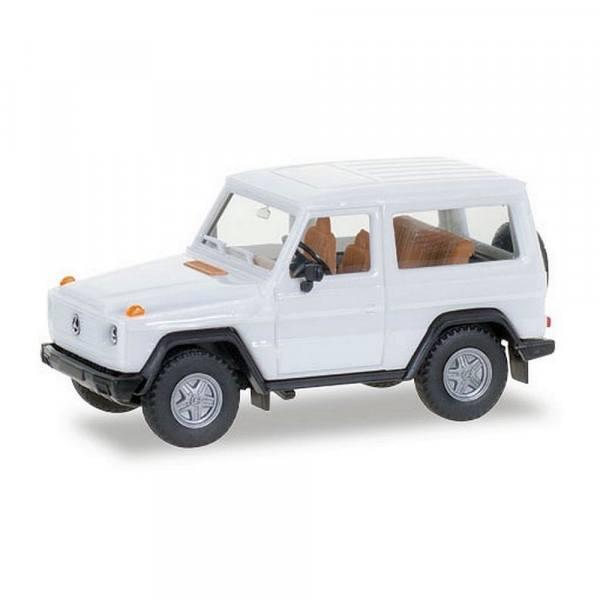 012645-007 - Herpa - Minikit Mercedes-Benz G-Klasse kurz, weiß