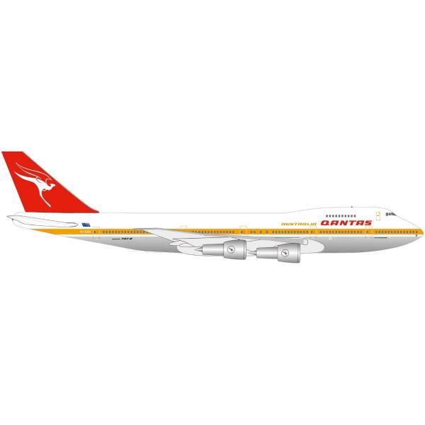 "534482 - Herpa - Qantas Boeing 747-200 ""City of Melbourne"" - Jubiläums Serie"
