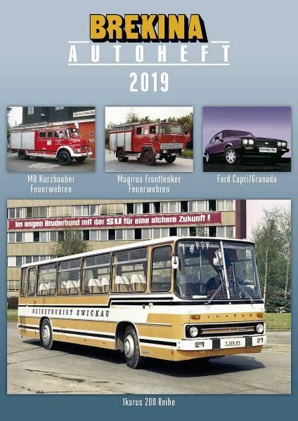 12218 - Brekina - Autoheft 2019