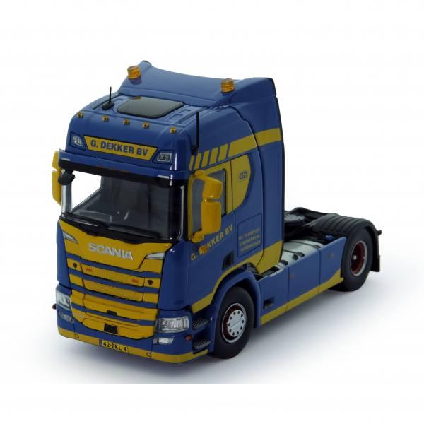 76380 - Tekno - Scania R 450 HL 2achs Zugmaschine - G. Dekker B.V. - NL -