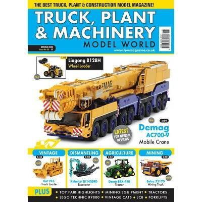 Spring / Frühling 2020 - Truck, Plant & Machinery Model World - Magazin