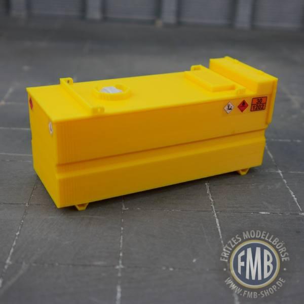 5437-08-001 - MSM - Baustellentank 10.000 Liter - gelb -