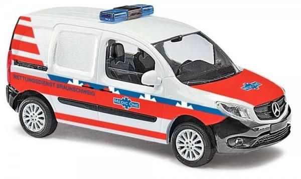 """50610 - Busch - Mercedes-Benz Citan Kasten """"Medic One, Braunschweig"""""""