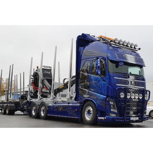 82189 - Tekno - Volvo FH4 GL XL Holztransport mit 5achs Anhänger - Eds Trafrakt-Moelven -S -