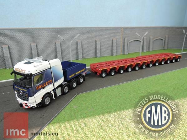 32-0037 - IMC - MB Arocs BigSpace 8x4 mit Kamag K25 Modulen - Collett -