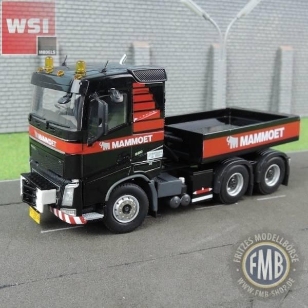 410231 - WSI - Volvo FH 6x4 3achs Zugmaschine mit Ballastbox - Mammoet