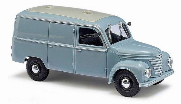 51200 - Busch - Framo V901/2 Kastenwagen grau (Baujahr 1954) DDR