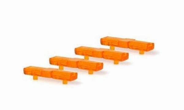 70232 - Rietze - Federal 8000 Gelblichtbalken für PKW -4 Stück-