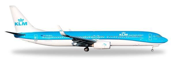 """531962 - Herpa - KLM  Boeing 737-900 """"Buzzard/Buizerd""""  - 1:500"""